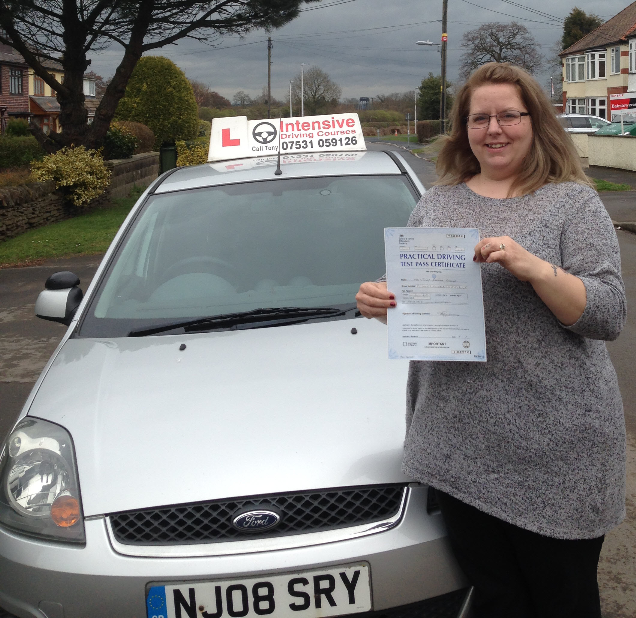 Tammy Passed FirstTime